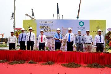 Khởi công tuyến phố thương mại Royal Vạn Phúc tại Van Phuc City
