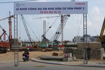 Lễ khởi công dự án khu dân cư Vạn Phúc 3